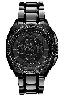 KARL LAGERFELD WATCHES KL1602 stainless steel unisex chronograph watch