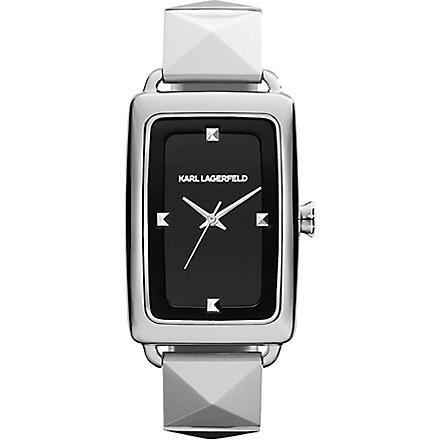 KARL LAGERFELD WATCHES KL1803 stainless steel unisex watch (Black