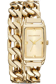 KARL LAGERFELD WATCHES KL1806 gold-plated watch