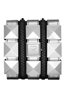 KARL LAGERFELD WATCHES KL2007 round stainless steel watch