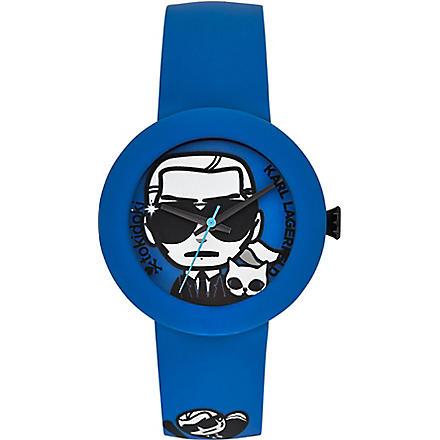 KARL LAGERFELD WATCHES KL2212 KARL x tokidoki unisex watch (Blue