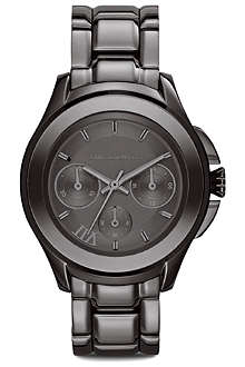 KARL LAGERFELD WATCHES KL2402 stainless steel unisex chronograph watch