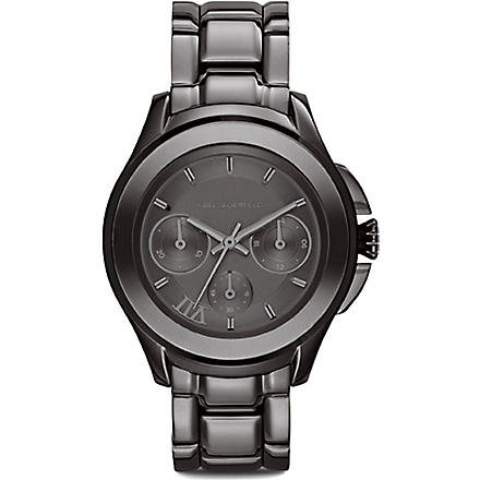 KARL LAGERFELD WATCHES KL2402 stainless steel unisex chronograph watch (Gray