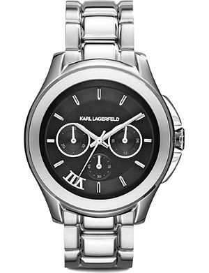 KARL LAGERFELD WATCHES KL2403 stainless steel unisex chronograph watch