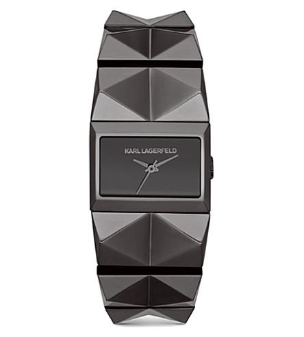KARL LAGERFELD WATCHES KL2602 stainless steel unisex watch (Gray