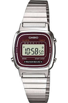 CASIO LA670WEA4EF stainless steel digital watch