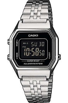CASIO LA680WEA1BEF silver-plated digital watch