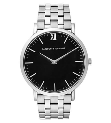 LARSSON & JENNINGS Lugano Vasa stainless steel bracelet watch
