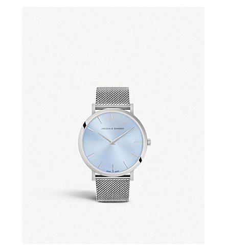 LARSSON & JENNINGS Lugano Solaris stainless steel watch