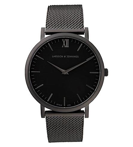 LARSSON & JENNINGS CM 黑色 PVD 镀层腕表 (黑色