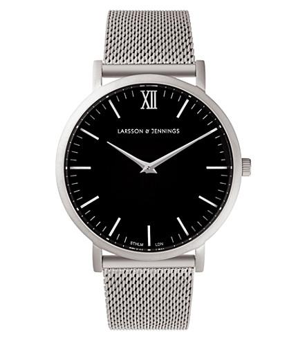LARSSON & JENNINGS LJ-W-CM-SLVRM Lugano stainless steel watch