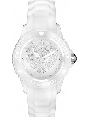 ICE-WATCH Ice-Love nylon and silicone small watch