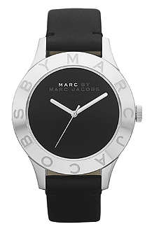 MARC BY MARC JACOBS MBM1205 Blade stainless steel and leather watch
