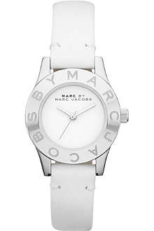 MARC BY MARC JACOBS MBM1206 Blade stainless steel and leather watch