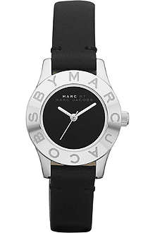 MARC BY MARC JACOBS MBM1211 Blade stainless steel and leather watch