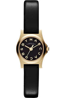 MARC BY MARC JACOBS MBM1240 gold-toned leather watch
