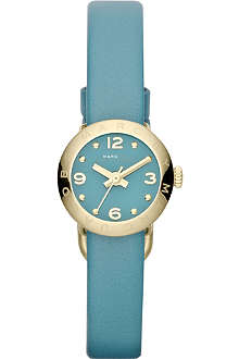 MARC BY MARC JACOBS MBM1253 Amy gold-toned leather watch