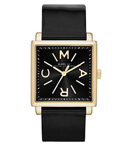 MARC BY MARC JACOBS MBM1279 Truman stainless steel watch (Black