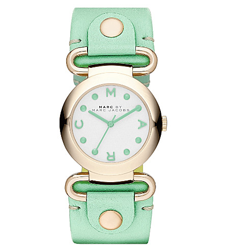 MARC BY MARC JACOBS MBM1306 Molly round watch (White