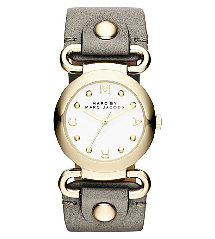 MARC BY MARC JACOBS MBM1308 Molly round watch 3.03cm (White