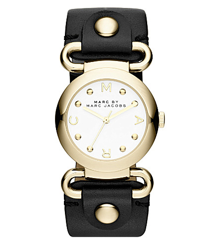 MARC JACOBS MBM1309 Molly round watch 3.03cm (White