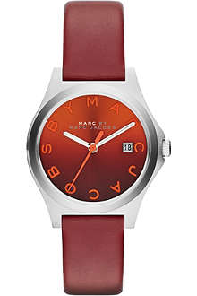 MARC BY MARC JACOBS MBM1322 The Slim stainless steel and leather watch