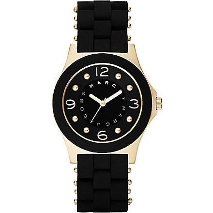 MARC BY MARC JACOBS Pelly gold and black ladies' watch (Black