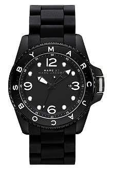 MARC BY MARC JACOBS MBM2570 logo bezel watch