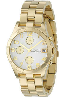 MARC BY MARC JACOBS MBM3039 Gold-plated chronograph watch