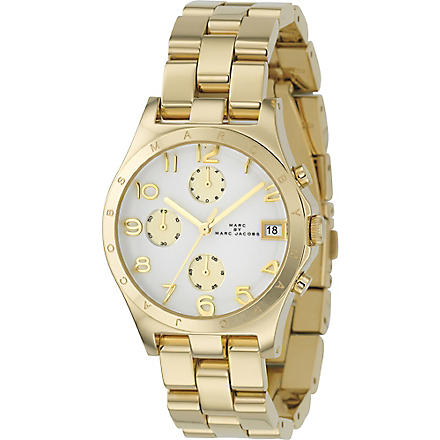 MARC BY MARC JACOBS MBM3039 Gold-plated chronograph watch (Gold