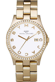 MARC BY MARC JACOBS MBM3045 gold-plated watch