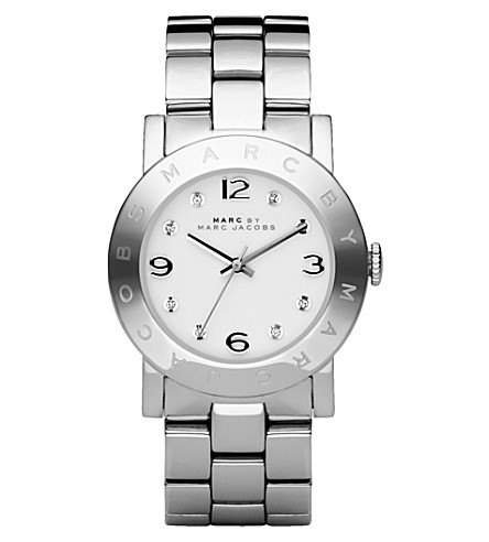 MARC JACOBS MBM3054 Amy stainless steel watch (Silver