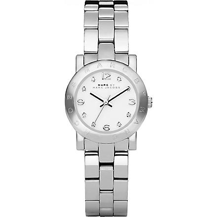 MARC BY MARC JACOBS MBM3055 Mini Amy stainless steel watch (White