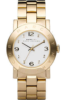 MARC BY MARC JACOBS MBM3056 Amy gold-plated watch