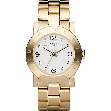 MARC BY MARC JACOBS MBM3056 Amy gold-plated watch (Gold