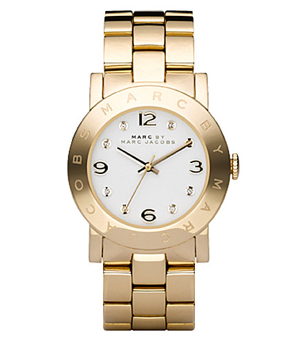 MARC JACOBS MBM3056 Amy gold-plated watch (Gold