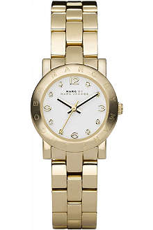 MARC BY MARC JACOBS MBM3057 Mini Amy gold-plated watch