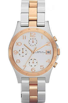 MARC BY MARC JACOBS mbm3070 stainless steel and rose gold plated watch