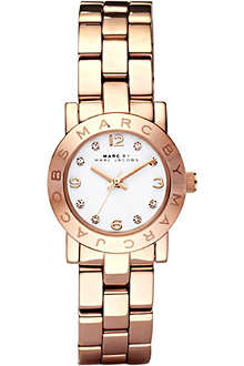 MARC BY MARC JACOBS MBM3078 Mini Amy rose gold-plated watch