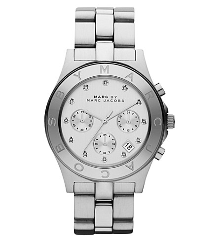 MARC JACOBS MBM3100 Blade stainless steel watch (Silver