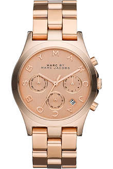 MARC BY MARC JACOBS MBM3107 rose gold-plated watch