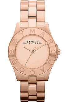 MARC BY MARC JACOBS MBM3127 Blade rose gold-plated watch