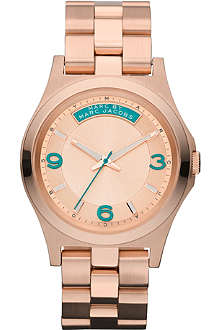 MARC BY MARC JACOBS MBM3163 Baby Dave rose gold-plated watch