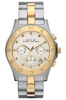 MARC BY MARC JACOBS MBM3177 steel chronograph watch