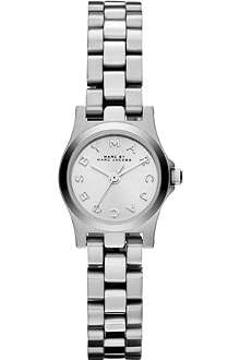 MARC BY MARC JACOBS MBM3198 Henry Dinky mini silver-toned watch