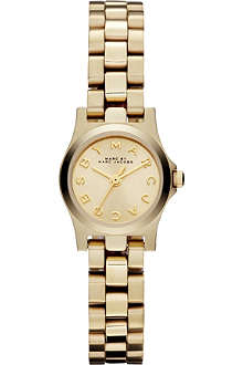 MARC BY MARC JACOBS MBM3199 Henry Dinky mini gold-tone watch 2.1cm