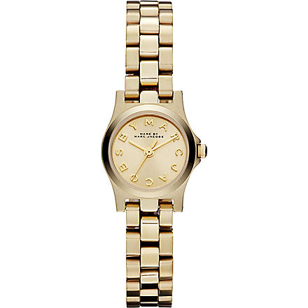 MARC BY MARC JACOBS MBM3199 Henry Dinky mini gold-tone watch 2.1cm (Gold