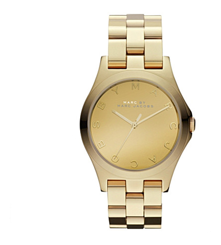 MARC JACOBS MBM3211 stainless steel watch (Gold