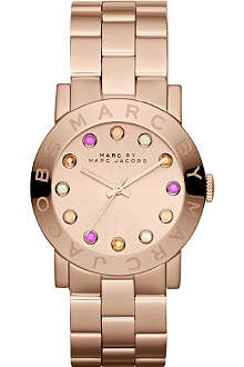 MARC BY MARC JACOBS MBM3216 Amy rose gold-toned watch