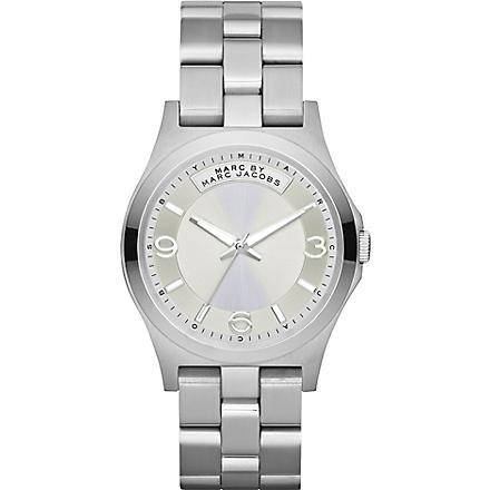MARC BY MARC JACOBS MBM3230 Baby Dave stainless steel watch (Silver